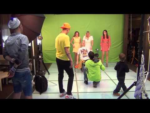 Ролик о том, как снимался Gangnam Style