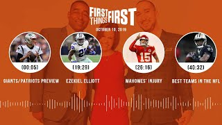 First Things First Audio Podcast(10.10.19)Cris Carter, Nick Wright, Jenna Wolfe | FIRST THINGS FIRST