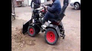 Самодельные трактора из дерева