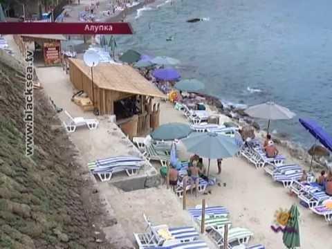 Скандальный пляж в районе Зеленого Мыса в Алупке снова в центре внимания