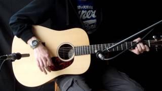 C.F Martin DX1 RAE Acoustic Guitar Demo