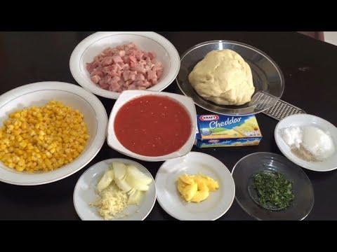 Resep Cara Mebuat Pizza Teflon Ayam Jagung Simpel Enak