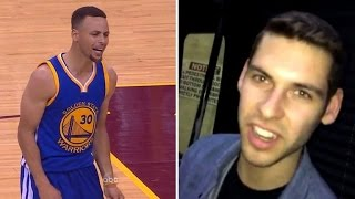 Son of Cavaliers Owner Hit by Stephen Curry