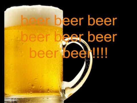 The beer song lyrics