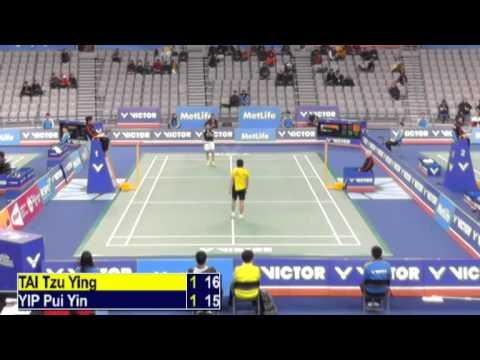 R32 - WS - Tai Tzu Ying vs Yip Pui Yin - 2014 Korea Badminton Open (F G3 14-12)