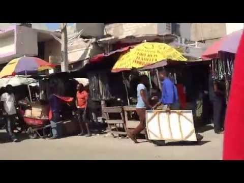 Bike ride in Port-au-Prince, Haiti
