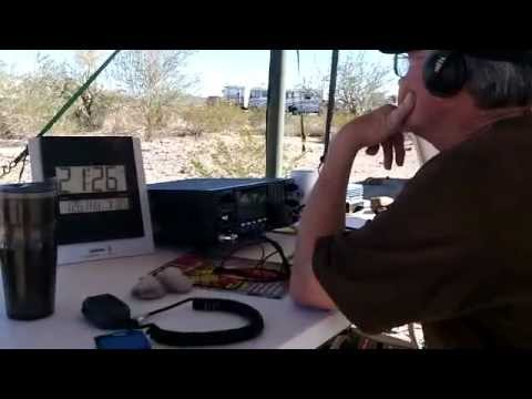 Operating W7Q Quartzfest Special Event Station