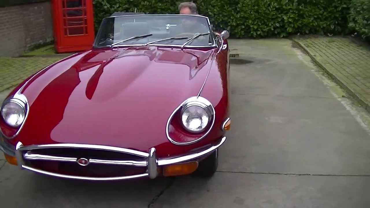 jaguar e type 4 2 cabriolet 1969 good condition video. Black Bedroom Furniture Sets. Home Design Ideas