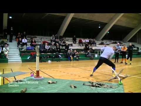 Helsinki Longsword Open 2016 - Cutting tournament Hans Jörnlind