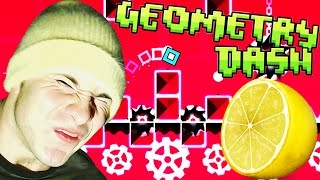 Geometry Dash ~ LEMON EATING CHALLENGE (Clutterfunk COMPLETE)
