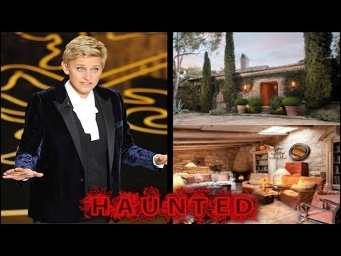 Ellen Degeneres Fears Her New Mansion Is Haunted
