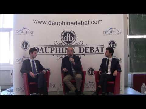 Enrico Letta à Dauphine (Dauphine Discussion Débat)