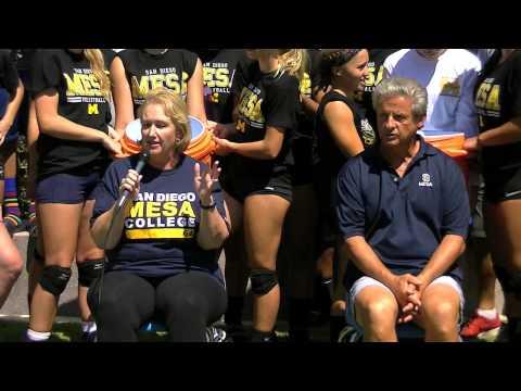 San Diego Mesa College ALS Ice Bucket Challenge