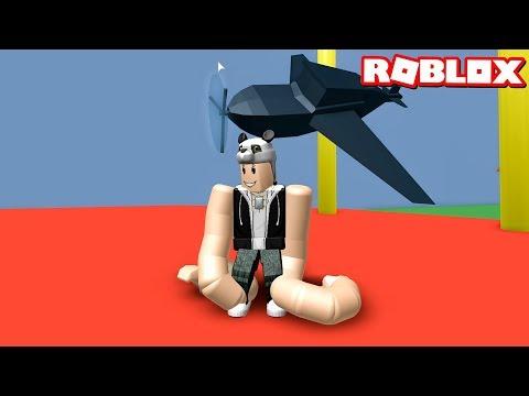 Uzun Kollu Adam Olduk! - Panda ile Roblox Noodle Arms