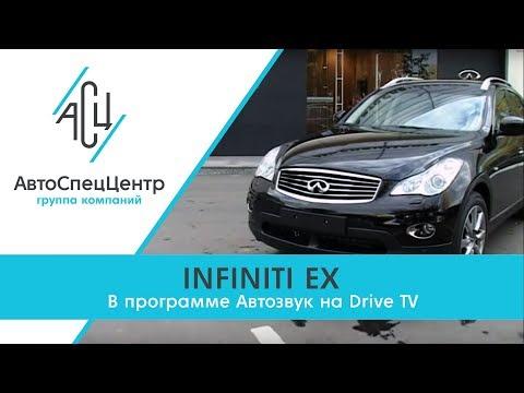 Infiniti EX, тест-драйв