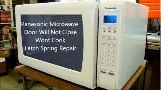 Panasonic Microwave Oven Door Wont Won