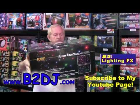 Lots of new DJ Lights Review American DJ & Chauvet