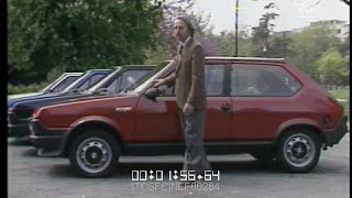 Giancarlo Baghetti prova per voi la FIAT Ritmo 105 TC (Pozzetto) \ 1981 \ ita _
