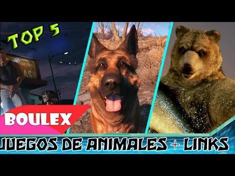 🎮TOP 5 ►JUEGOS DE ANIMALES//SIMULADORES//MASCOTAS🐾 ✔Pocos & Medios Requisitos✔+ Links Sin Publicidad
