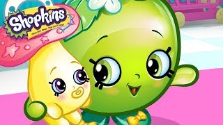 SHOPKINS - BABYSITTER BLUES | Videos For Kids | Toys For Kids | Shopkins Cartoon