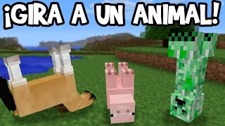 ¡Cómo Girar Animales Y Monstruos! - Minecraft Xbox 360/One/PS3/PS4