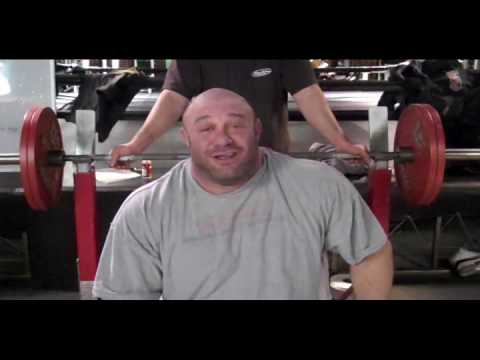 Athletic Body Care: Scot Mendelson Bench press tips Image 1