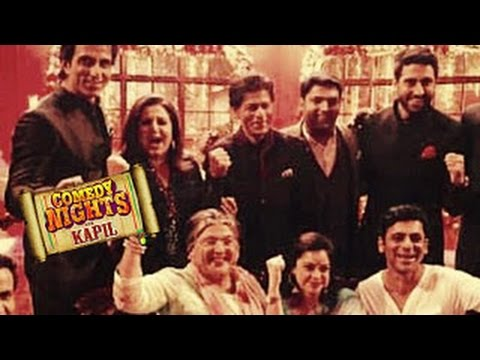 Comedy Nights With Kapil 25th October 2014 Episode |Shahrukh, Deepika PROMOTE HNY