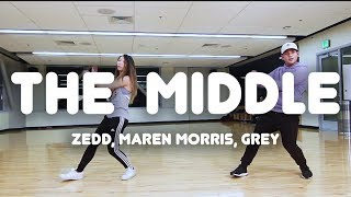Download Lagu The Middle - Zedd, Maren Morris, Grey | Robe Bautista Choreography Gratis STAFABAND