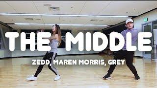 Download Lagu The Middle - Zedd, Maren Morris, Grey | Robe Bautista Choreography Gratis STAFABAND