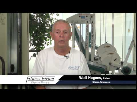 Fitness Forum Commercial Walt Hagues