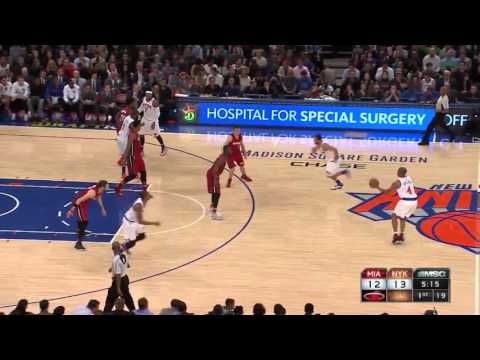 Carmelo Anthony vs Miami Heat 27.11.2015 (11Pts)