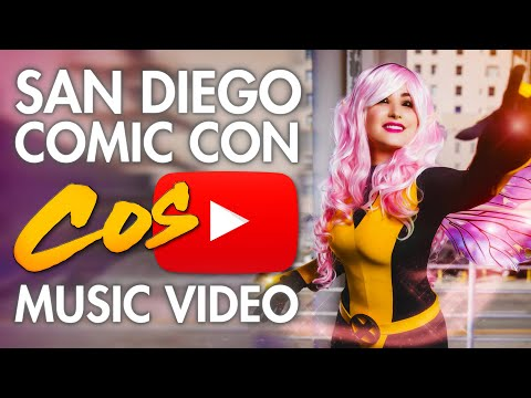 San Diego Comic Con SDCC - Cosplay Music Video .mp3