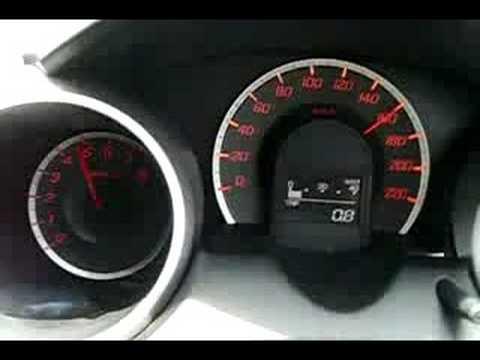 New Honda Jazz 0-185 km