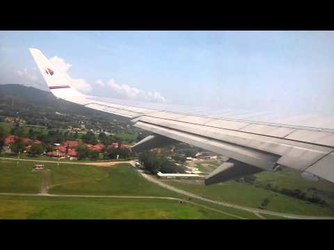Malaysia Airlines MH1437 Boeing 737-800 9M-MLD LGK-KUL Takeoff Runway 21