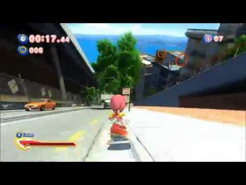 Sonic Generations - Amy City Escape