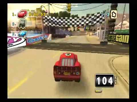 Cars Mater National Championship Game Walkthrough [Part 3] (HD)