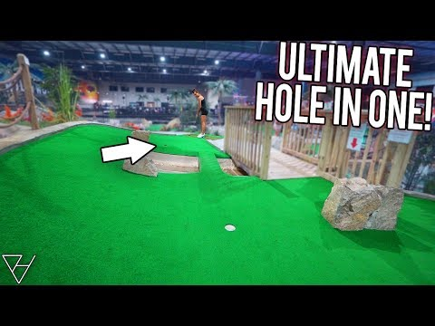 This Is The Ultimate Mini Golf Hole In One Option!
