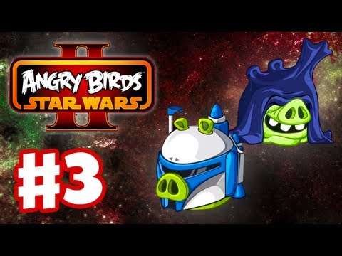 Angry Birds Star Wars 2 - Gameplay Walkthrough Part 3 - Join the Pork Side! 3 Stars! (iOS/Android)