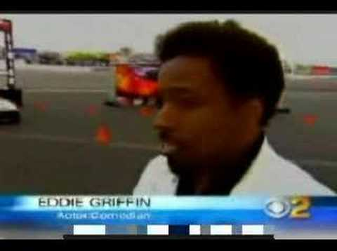 Eddie Griffin crashes ferrari, THE COMPLETE COVERAGE!