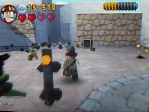 Lego Indiana Jones Raiders Of The Lost Ark Cairo Street Fight Part 2