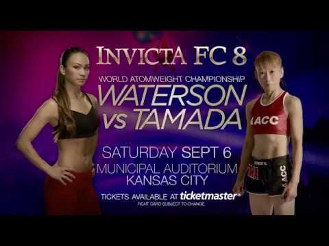 Invicta FC 8 TICKETS ON SALE NOW