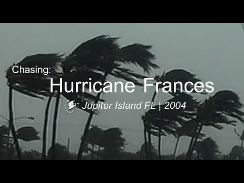 Hurricane Frances - Jupiter Island, Florida. September 4, 2004