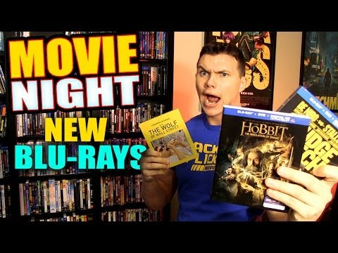 MOVIE NIGHT - New Blu-ray Movies!
