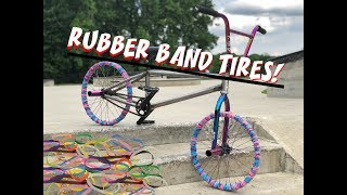WILL IT RIDE!? (RUBBER BAND TIRES)