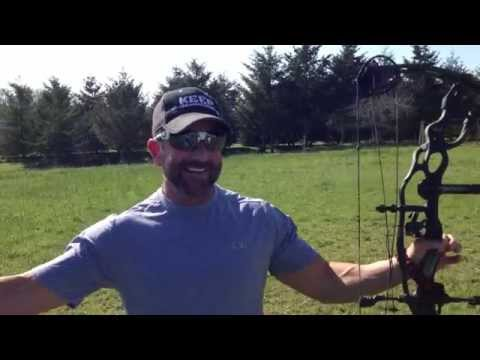 Cam's 237 yard Hoyt Carbon Spyder Turbo bow shot