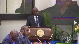 VIDEO: President Jovenel Moise opening a CARICOM work session