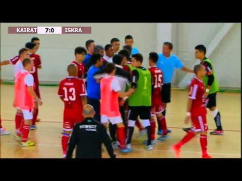 Три удаления в футзале МФК Кайрат