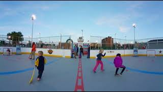 The Children's Museum of Indianapolis Sports Legends Experience 360 Views of Hockey