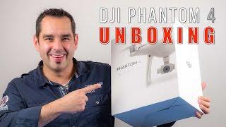 DJI Phantom 4 #01 - Unboxing