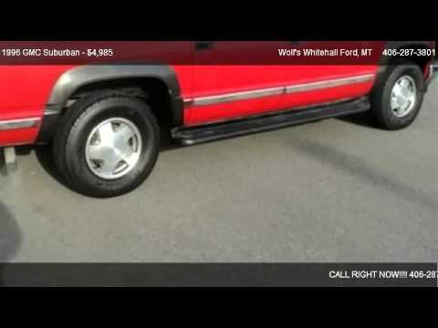 1996 GMC Suburban SL - for sale in Whitehall, MT 59759